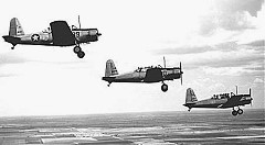 BT-13s in flight