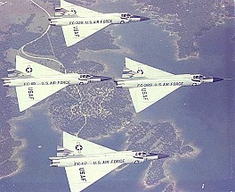 F102s in formation